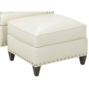 Chase Leather Ottoman