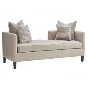 Sebastian Leather Settee