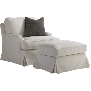 Stowe Slipcover Chair - White