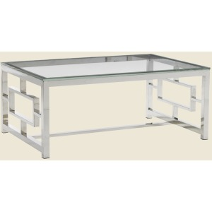 Russell Glass Top Cocktail Table