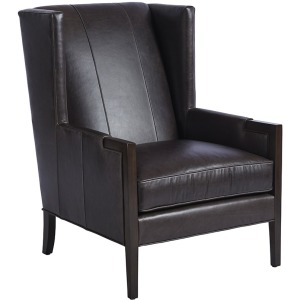 Stratton Leather Wing Chair