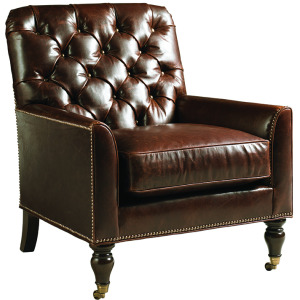 Sandhurst Leather Chair