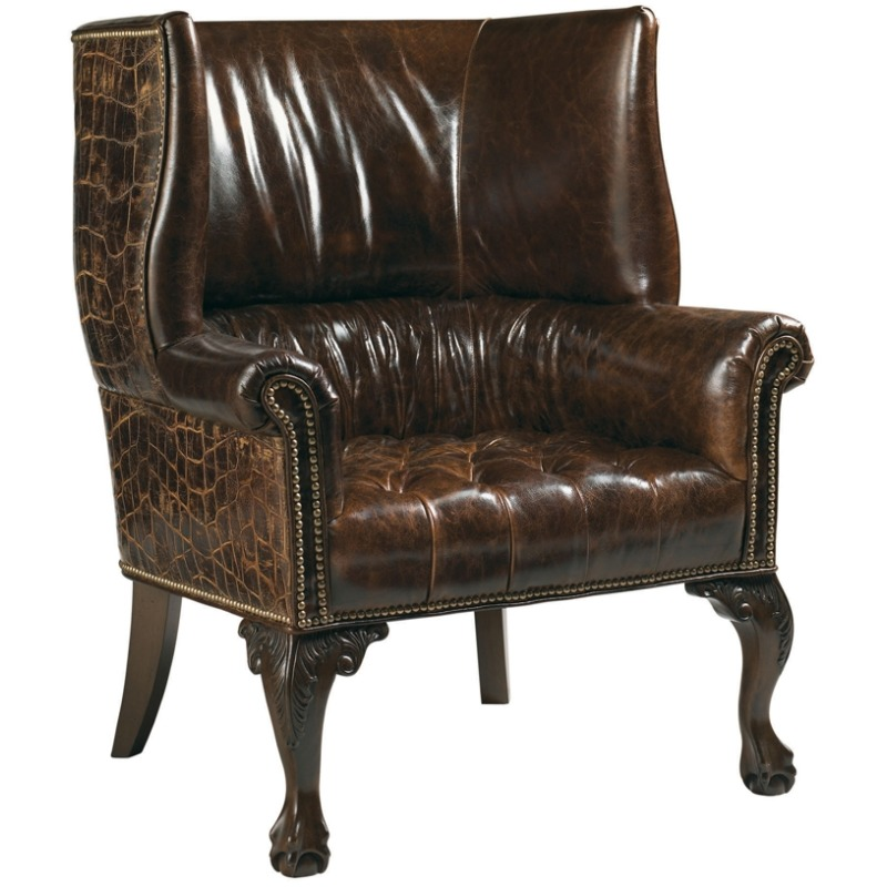 Prime Cardiff Leather Chair By Lexington Furniture Ll7531 11 Machost Co Dining Chair Design Ideas Machostcouk