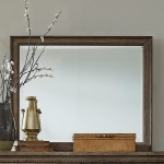 Americana Farmhouse Landscape Mirror