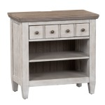 Heartland 1 Drawer Night Stand w/ Charging Station