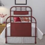 Vintage Series Full Metal Bed - Red