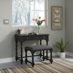 Accent Vanity Desk/Stool