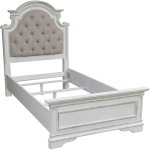 Magnolia Manor Twin Upholstered Bed