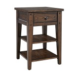 Lake House Chair Side End Table