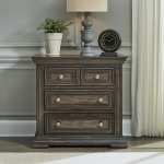 Big Valley Bedside Chest w/ Charging Station
