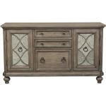 Simply Elegant 3 Piece Desk & Hutch Set