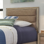 Sun Valley Twin Upholstered Bed