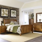 Grandpas Cabin King California Sleigh Bed, Dresser & Mirror, Chest, Night Stand