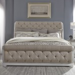 King California Sleigh Bed