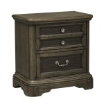 Valley Springs 2 Drawer Night Stand