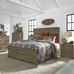 Harvest Home King Panel Bed, Dresser, Chest, N/S