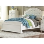 Stardust Youth Twin Panel Bed, Dresser & Mirror