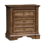 Haven Hall 3 Drawer Night Stand