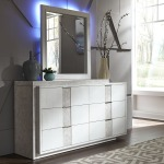 Mirage Dresser & Mirror
