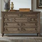Americana Farmhouse 9 Drawer Dresser