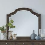 Homestead Scalloped Mirror