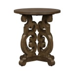 Parisian Marketplace Round End Table