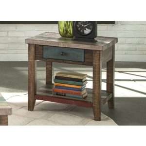 Boho Loft End Table