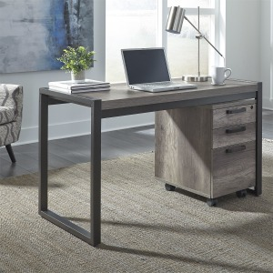 Tanners Creek Writing Desk & File Cabinet