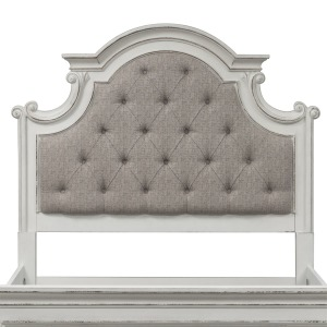 Magnolia Manor Queen Uph Panel Headboard