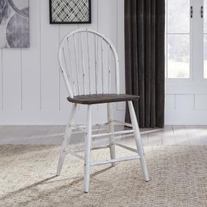 Farmhouse Windsor Back Counter Chair