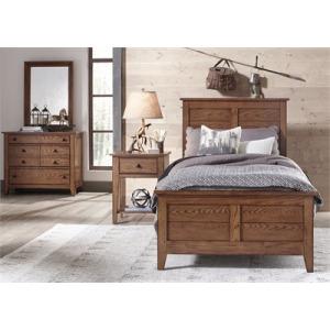 Grandpa's Cabin Twin or Full Sleigh Bed