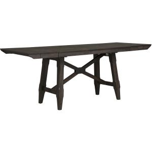 Double Bridge Trestle Table Set