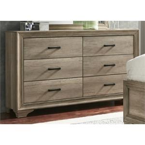 Sun Valley 6 Drawer Dresser