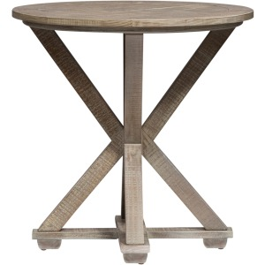 Parkland Falls Round End Table