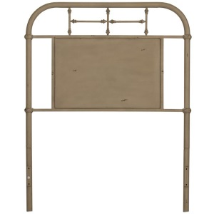 Vintage Series Full Metal Headboard - Vintage Cream
