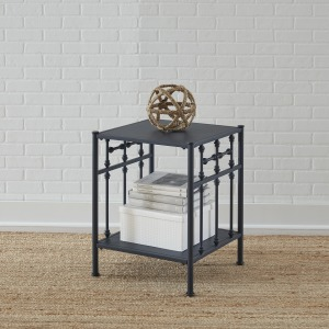 Vintage Series Open Night Stand - Navy
