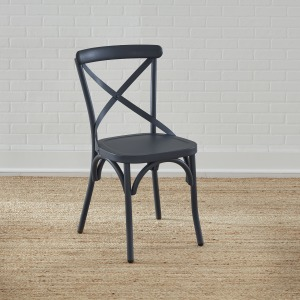 Vintage Series X Back Side Chair- Navy