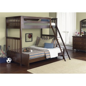 Abbott Ridge Twin Over Twin Bunk Bed Set