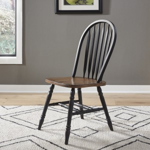 Carolina Crossing Windsor Side Chair- Black