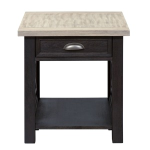 Heatherbrook Drawer End Table