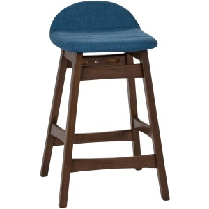 Space Savers 24 Inch Counter Chair - Blue (RTA)