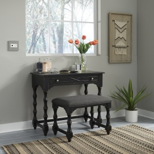 Ashton Accent Vanity Desk/Stool