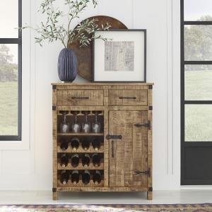 Emerson Wine Accent Cabinet