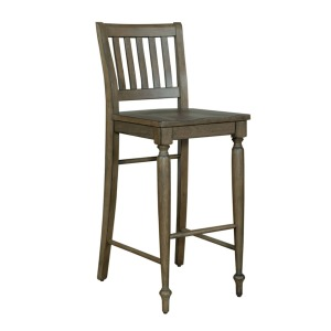 Harvest Home Slat Back Barstool (RTA)