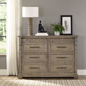 Town & Country 8 Drawer Dresser