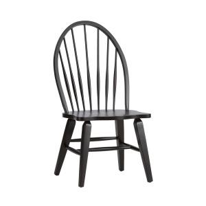 Hearthstone Ridge Windsor Back Side Chair - Black