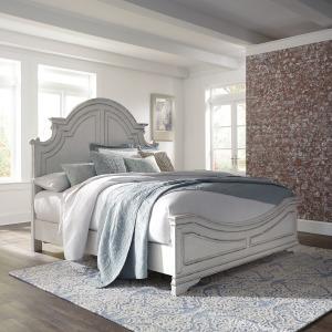 Magnolia Manor Queen Panel Bed