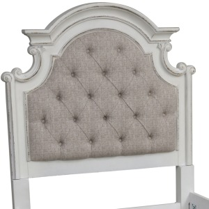 Magnolia Manor Twin Uph Panel Headboard