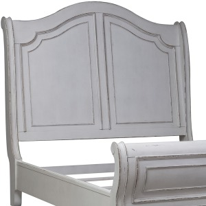 Magnolia Manor Queen Sleigh Headboard