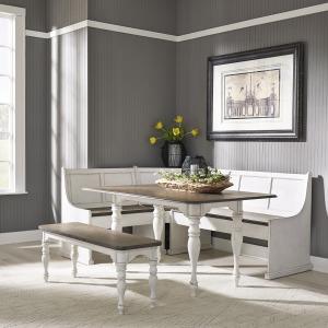 Magnolia Manor 5 Piece Rectangular Table Set